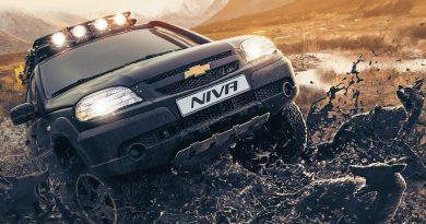 Niva Chevrolet на бездорожье