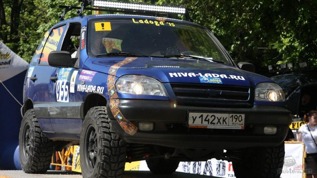 Niva Chevrolet на соревнованиях Ladoga Trophy