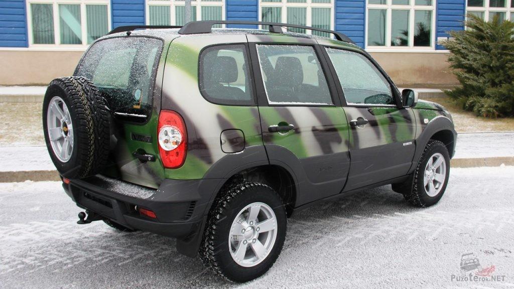 Niva Chevrolet в камуфляже