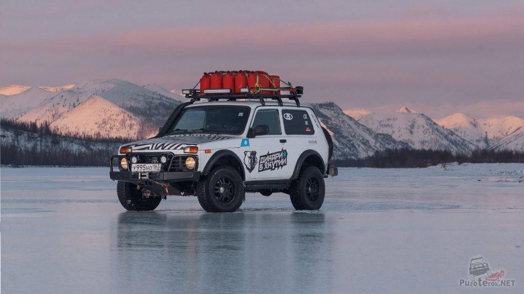 Нива в северной экспедиции