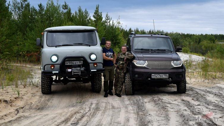 Подготовленный УАЗ Фермер и УАЗ Патриот