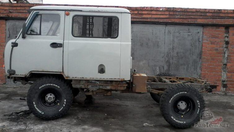 Подрезаный кузов УАЗ Фермер