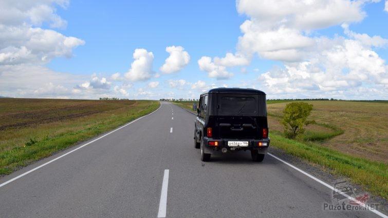 Поездка на Алтай на УАЗ Хантер
