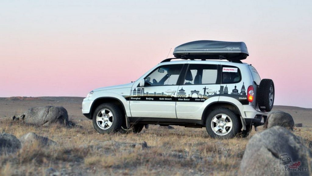 Путешествие на Niva Chevrolet в Монголии