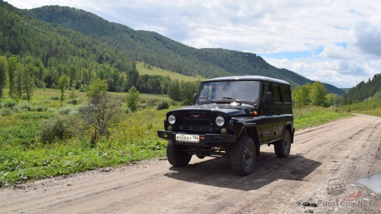 Путешествие на УАЗ Хантер по Алтаю