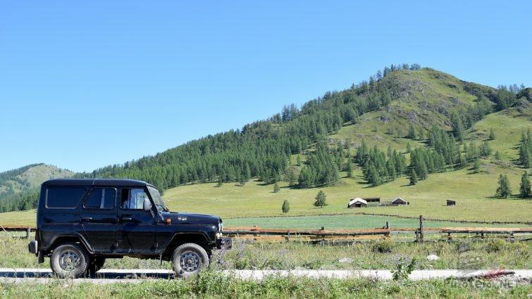 Путешествие на УАЗе по Алтаю