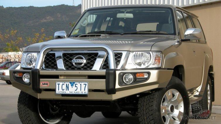 Силовой бампер ARB на Nissan Patrol