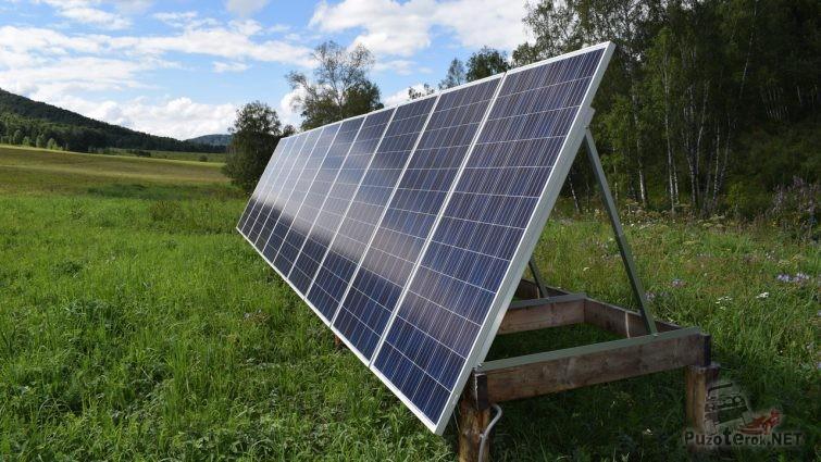 Солнечные панели на Алтае