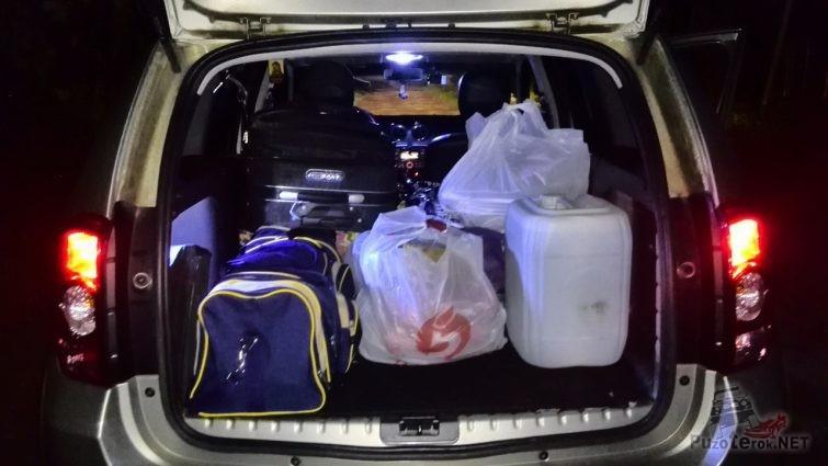 Багажник рено дастер