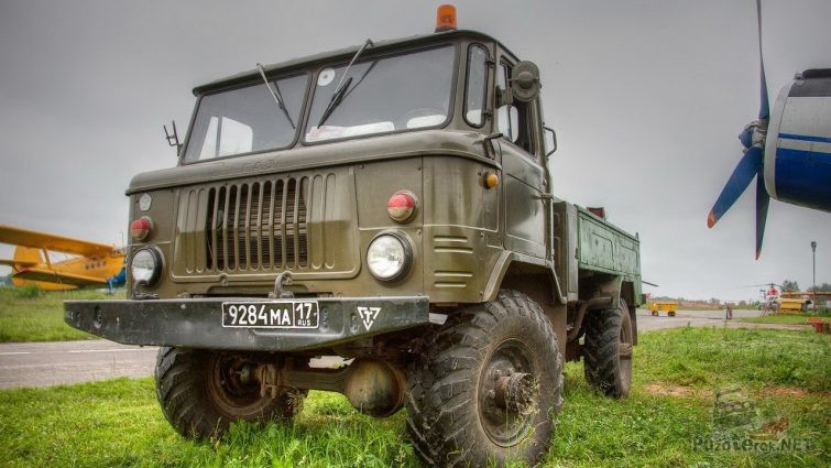 Бортовой ГАЗ-66 с хранения