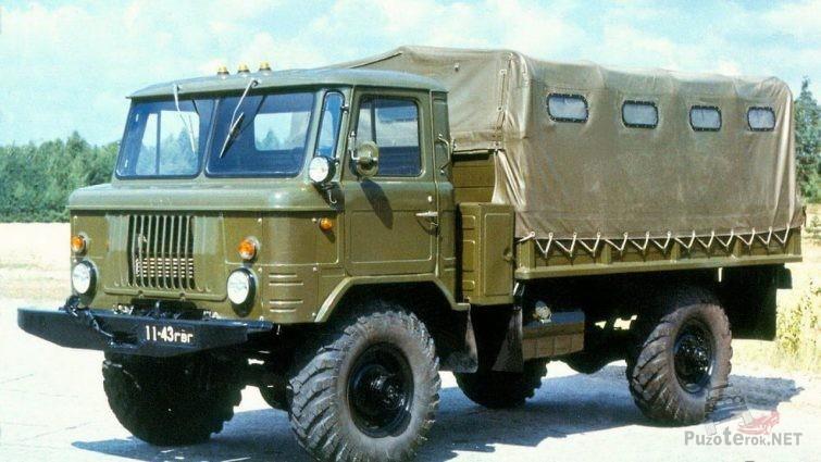 Бортовой ГАЗ-66 шишига