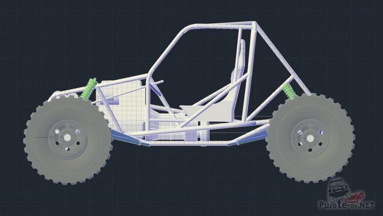 Чертеж прототипа ТР3