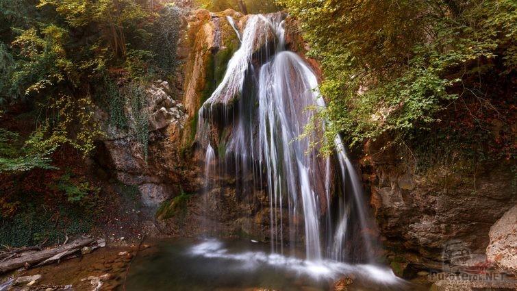 Джур-джур - самый полноводный водопад Крыма