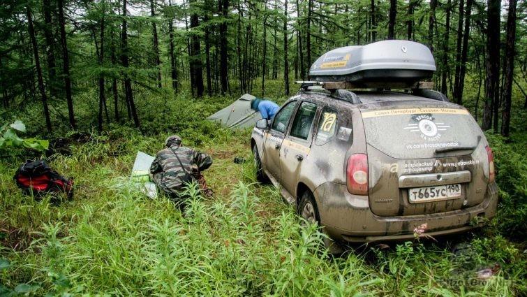 Экспедиция оффроад на рено дастер