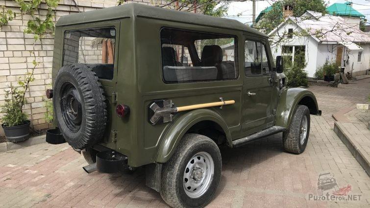 Фургон из ГАЗ-69