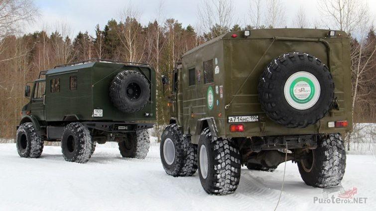 ГАЗ-66 и Унимог
