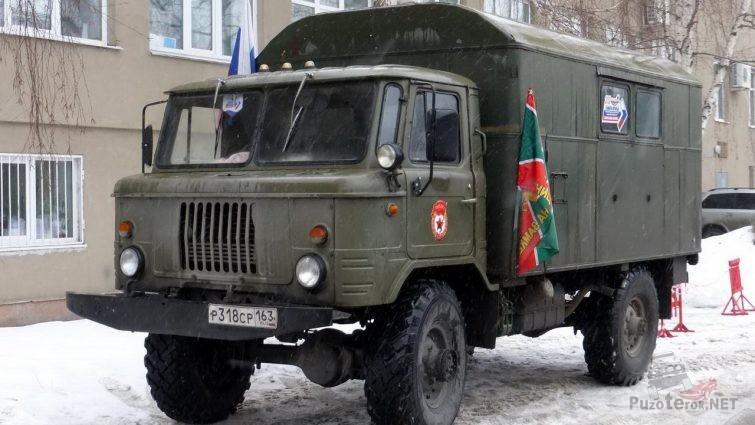 ГАЗ-66 на дроме