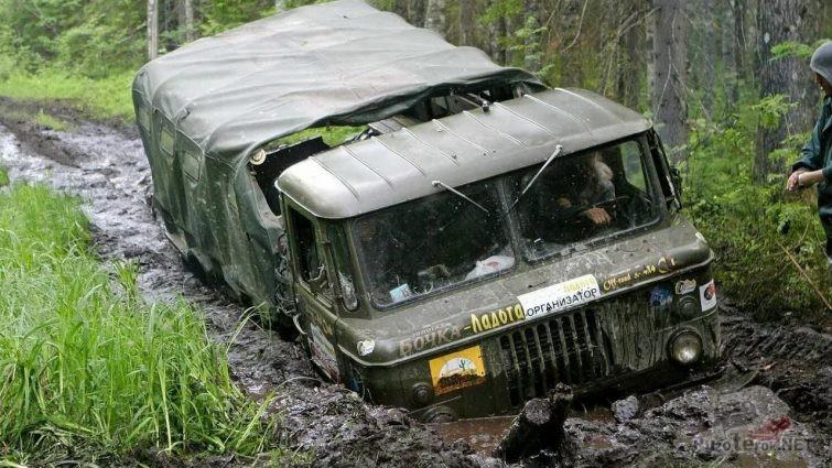 ГАЗ-66 на ладоге