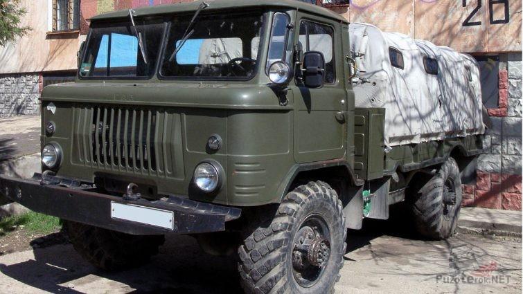 ГАЗ-66 с хранения
