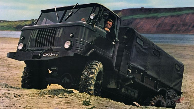 ГАЗ-66 с консервации