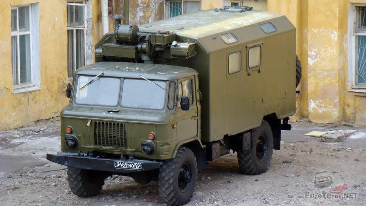 ГАЗ-66 с кунгом с хранения