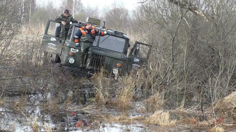 ГАЗ-66 с лебедкой