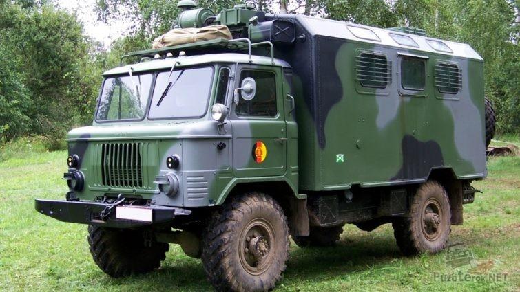 ГАЗ-66 в камуфляже