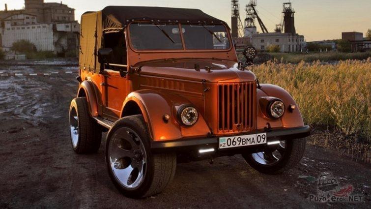 ГАЗ-69 для города