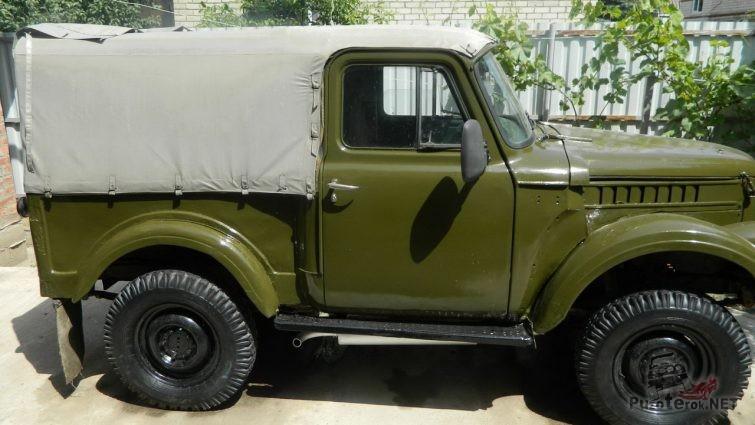 ГАЗ-69 с кабиной ГАЗ-53