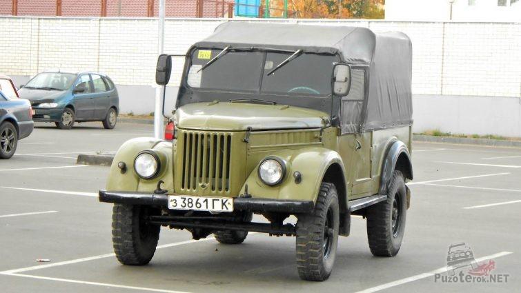 ГАЗ-69 с консервации