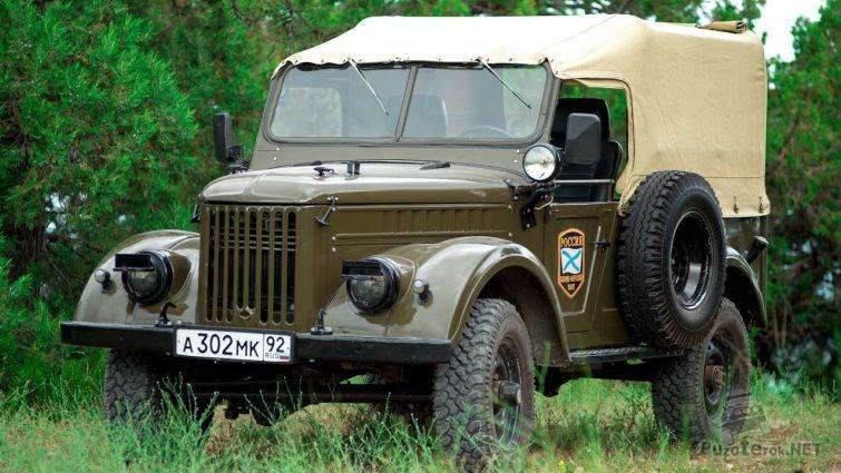 Красивый ГАЗ-69