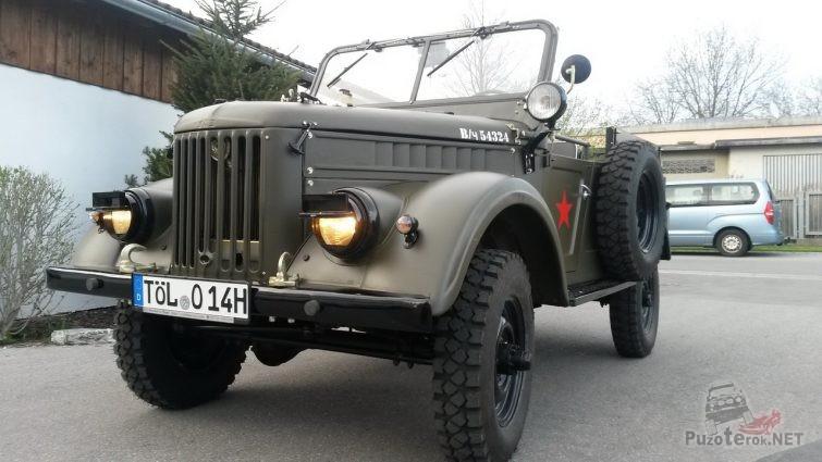 Красивый ГАЗ-69 в стандарте