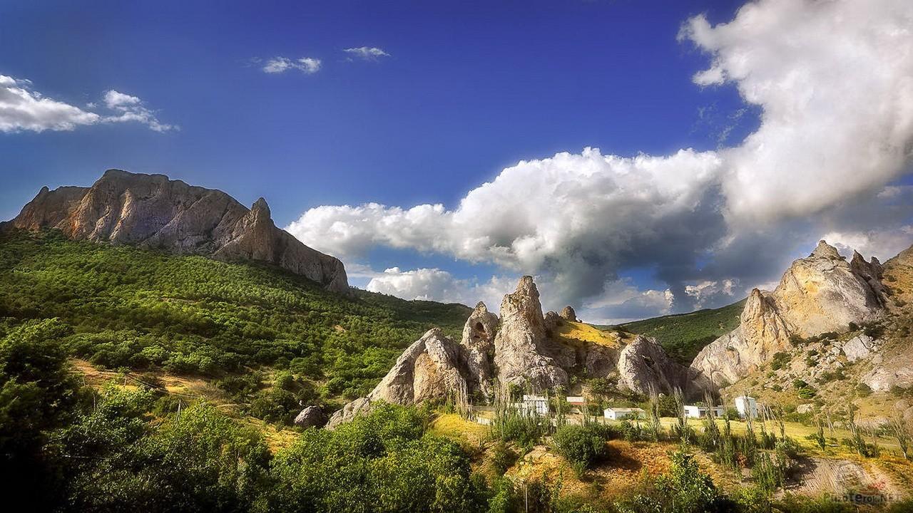 Крым, горы, солнечная долина