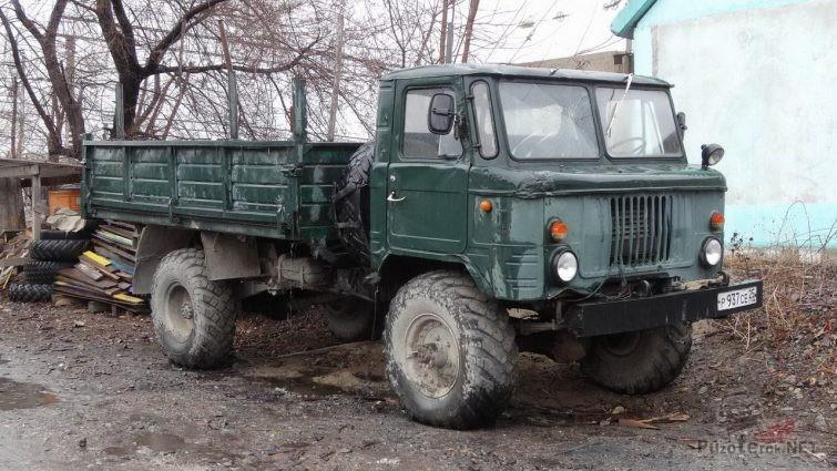 Купить ГАЗ-66 В Приморском крае