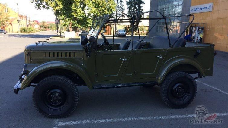 Купить ГАЗ-69 с консервации