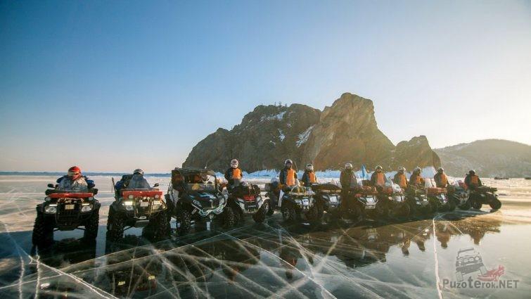 Квадроциклы на Байкале