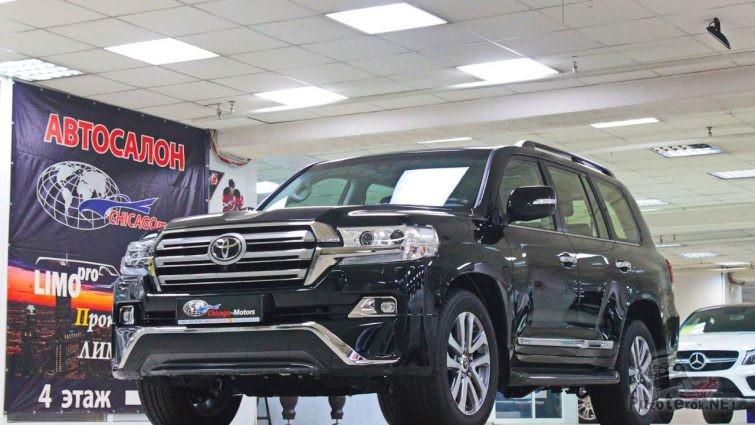 Land Cruiser 200 2017 Executive купить б.у.