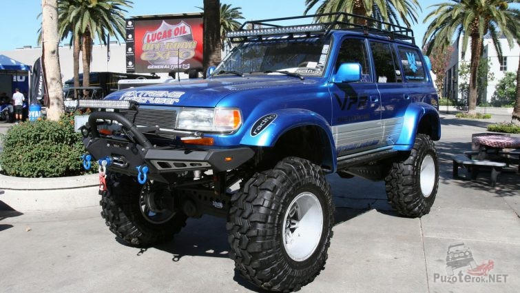 Land Cruiser 80 off Road Tuning