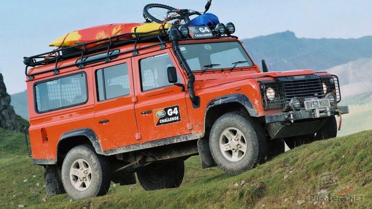 Land Rover Defender 110 G4 Challenge (2006)