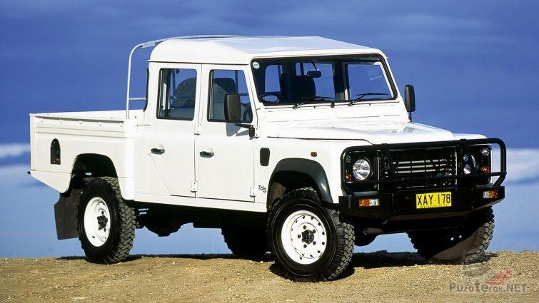 Land Rover Defender 130 пикап с двойной кабиной