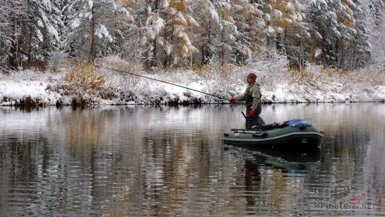 Ловля с лодки на Байкале