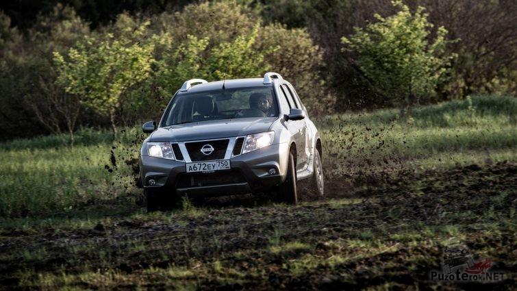 Nissan Terrano 2018 для поездки в лес