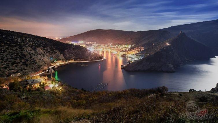 Ночной Крым Балаклава