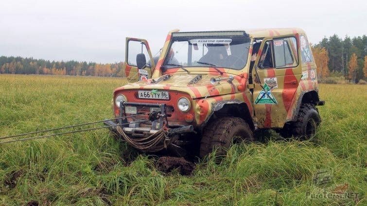 Подготовленный УАЗ 469 на боггерах