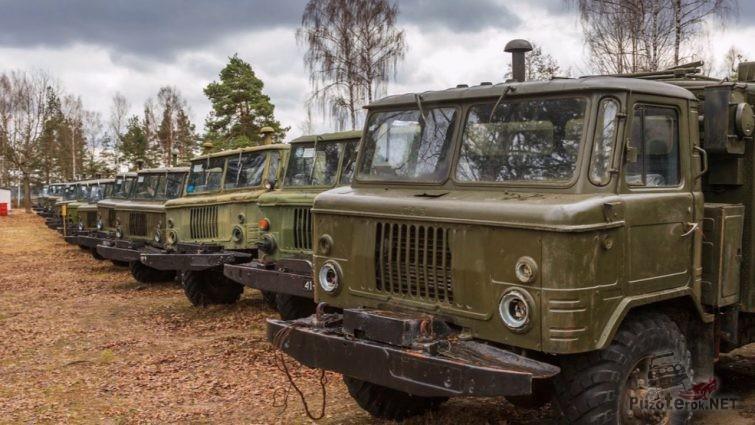 Продажа ГАЗ-66 с хранения