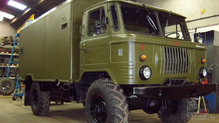 Продажа ГАЗ-66 с консервации