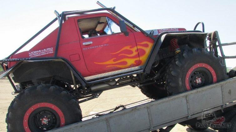 Прототип ТР3 из Нивы