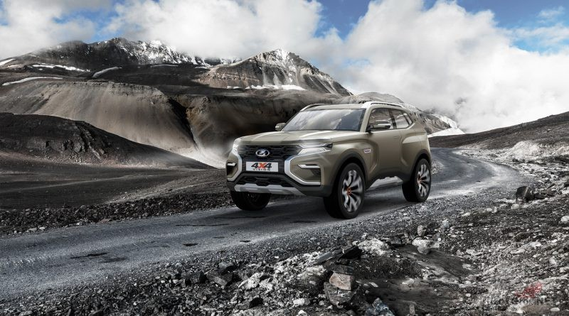 Путешествие на Lada Niva 4x4 Vision концепт