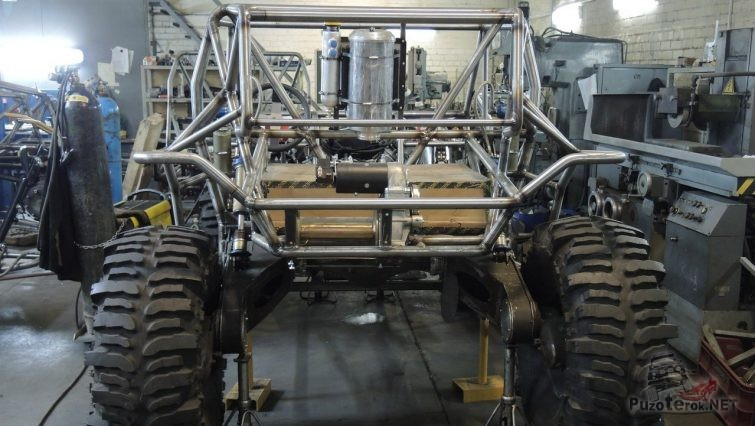 Рама для прототипа ТР3