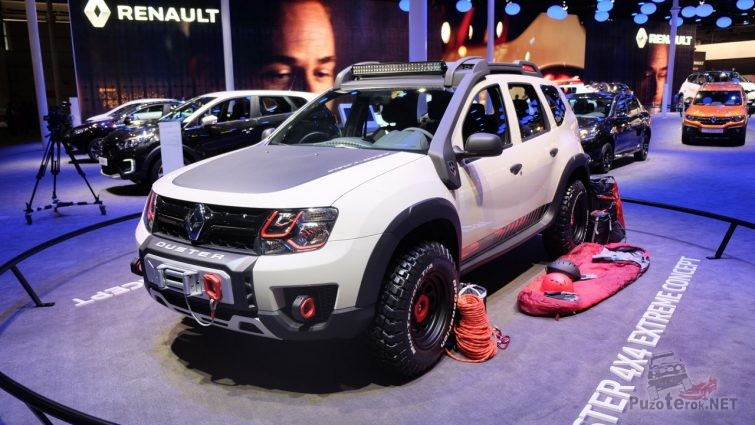 Renault Duster Tuning 4x4